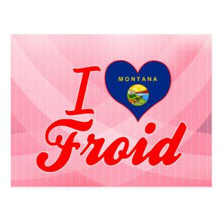 Amo Froid, Montana Postal