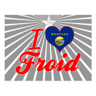 Amo Froid, Montana Postales
