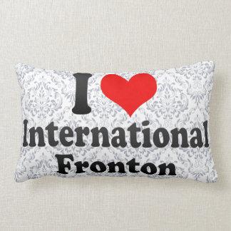 Amo Fronton internacional Almohadas