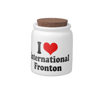 Amo Fronton internacional Jarras Para Caramelos
