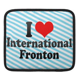 Amo Fronton internacional Funda Para iPads