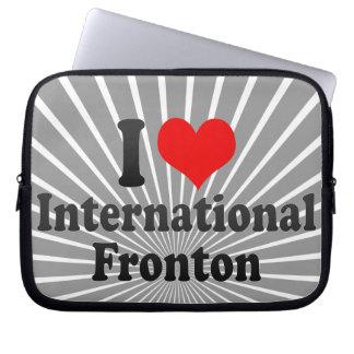 Amo Fronton internacional Funda Computadora