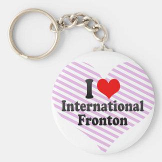 Amo Fronton internacional Llaveros Personalizados