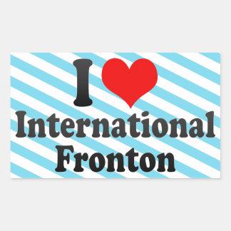 Amo Fronton internacional Rectangular Altavoz