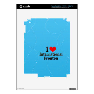 Amo Fronton internacional Pegatinas Skins Para iPad 3