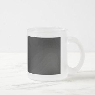 Amo frugalidad taza cristal mate