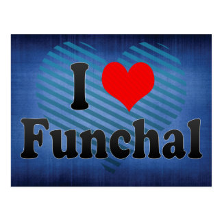 Amo Funchal, Portugal Postales