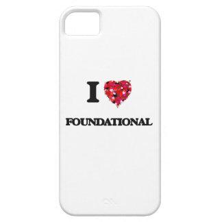 Amo fundacional funda para iPhone 5 barely there