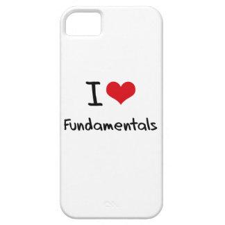 Amo fundamentales iPhone 5 funda