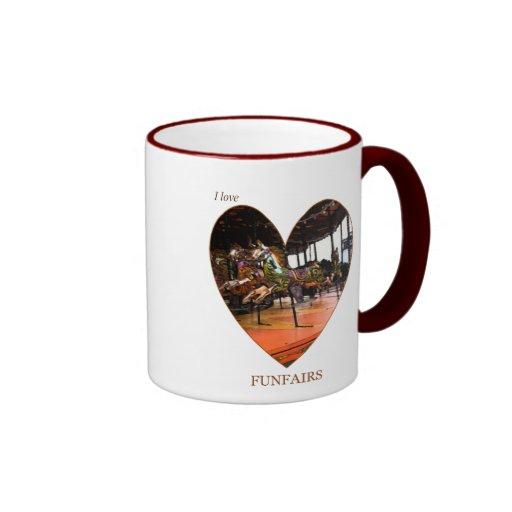 Amo Funfairs Tazas De Café