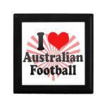 Amo fútbol australiano caja de regalo