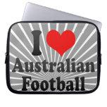 Amo fútbol australiano funda ordendadores