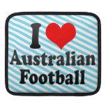 Amo fútbol australiano mangas de iPad