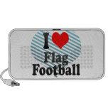 Amo fútbol de bandera mp3 altavoces