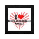 Amo fútbol de las reglas del International Cajas De Regalo