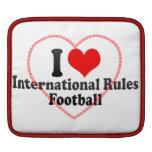 Amo fútbol de las reglas del International Manga De iPad