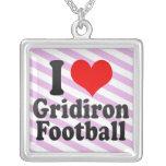 Amo fútbol del Gridiron Grimpolas Personalizadas