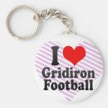 Amo fútbol del Gridiron Llavero