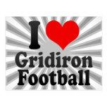 Amo fútbol del Gridiron Postal