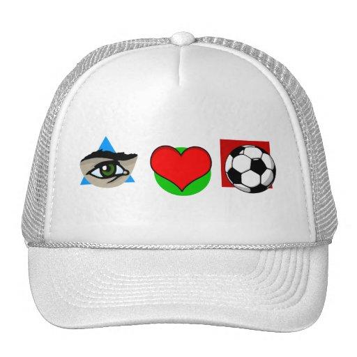Amo fútbol gorra