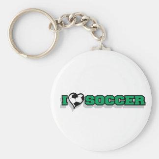 Amo fútbol llavero personalizado