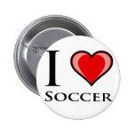 Amo fútbol pins