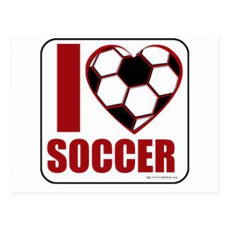 ¡Amo fútbol! Tarjetas Postales