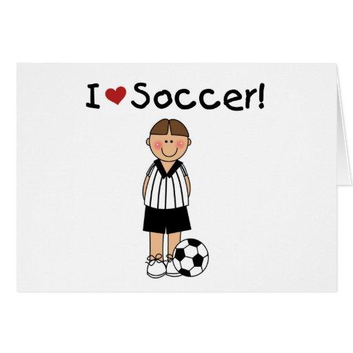 Amo fútbol tarjetón