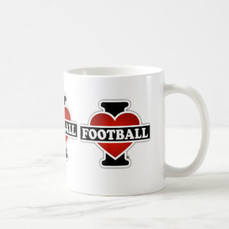Amo fútbol taza