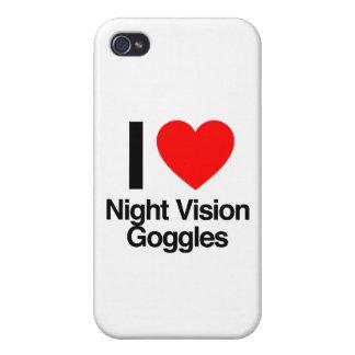 amo gafas de la visión nocturna iPhone 4 carcasas