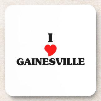 Amo Gainesville la Florida Posavasos De Bebidas