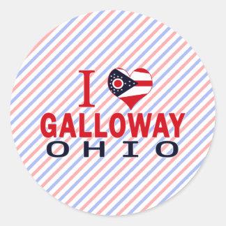 Amo Galloway Ohio Etiquetas