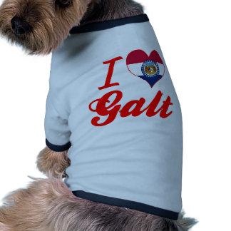 Amo Galt, Missouri Camiseta De Mascota