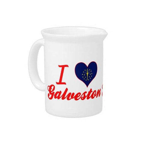 Amo Galveston, Indiana Jarrón