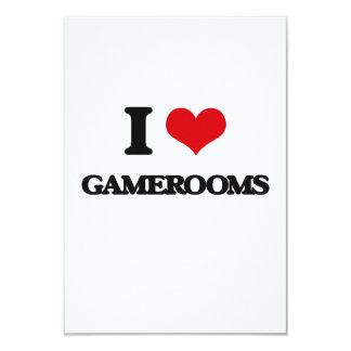 """Amo Gamerooms Invitación 3.5"""" X 5"""""""