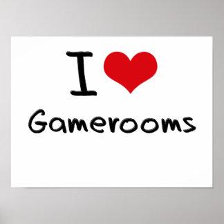 Amo Gamerooms Poster