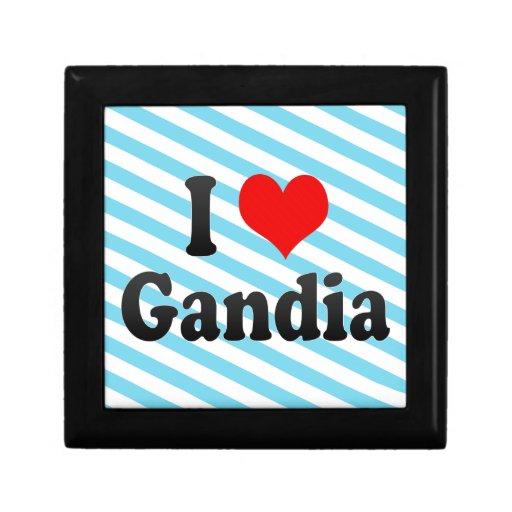 Amo Gandía, España Caja De Recuerdo