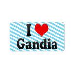 Amo Gandía, España Etiquetas De Dirección