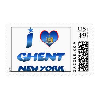 Amo Gante, Nueva York Sellos