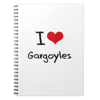 Amo Gargoyles Spiral Notebooks