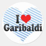 Amo Garibaldi Pegatinas