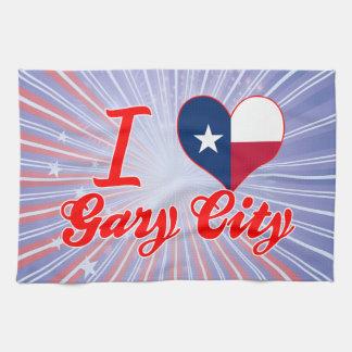 Amo Gary+Ciudad, Tejas Toallas De Mano