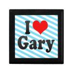 Amo Gary, Estados Unidos Cajas De Joyas
