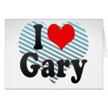 Amo Gary, Estados Unidos Felicitación