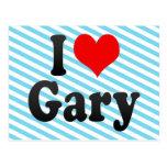 Amo Gary, Estados Unidos Tarjeta Postal