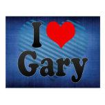 Amo Gary, Estados Unidos Tarjetas Postales