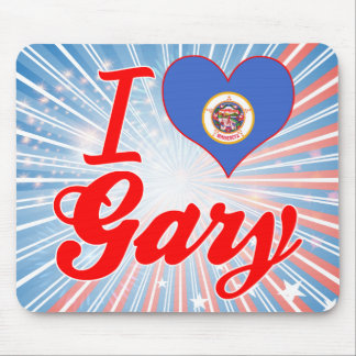 Amo Gary, Minnesota Tapete De Ratones