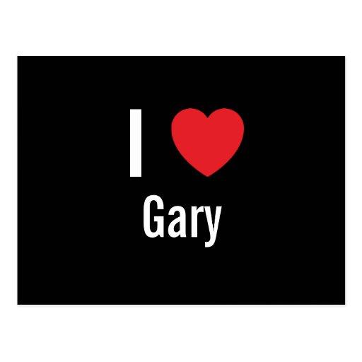 Amo Gary Postales