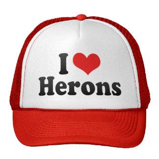 Amo garzas gorras de camionero