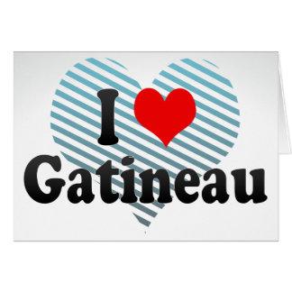Amo Gatineau, Canadá. Amo Gatineau, Canadá Tarjeta